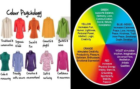 psychological effects of color surprising psychological effects of the colors you wear