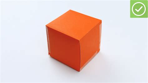 How To Make A Paper Cube Box - 3 ways to make a paper cube wikihow