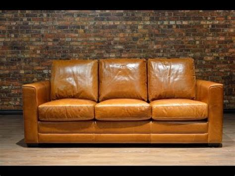 distressed leather couch bring classy    living