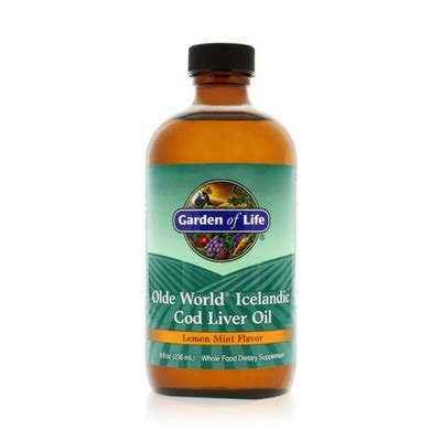 Cod Liver Detox by Garden Of Olde World Cod Liver Joyviva