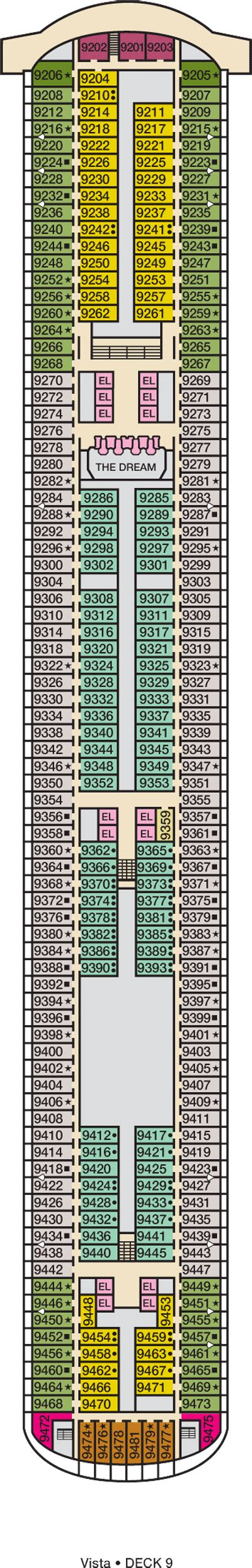 Carnival Dream Floor Plan by Carnival Dream Deck Plans Cruise Radio