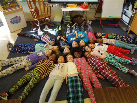pajama day glenn stephens elementary school
