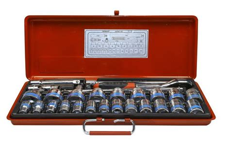 26 Pcs 34 1 Dr Socket Wrench Set Tk 021 6pt Maxpower taparia drive socket wrench sets 1086 buy in