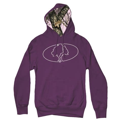 purple realtree hoodie mossy oak purple bling hoodie sweatshirt