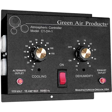 greenhouse thermostat fan control ventilation and humidity controller farmtek