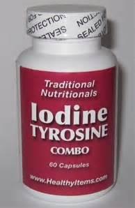 Iodine Detox Fatigue by Iodine Tyrosine Combo Healthy Items