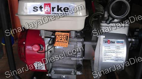 Pompa Air Kubota pompa air starke 2 5 5hp bensin sinar jaya diesel
