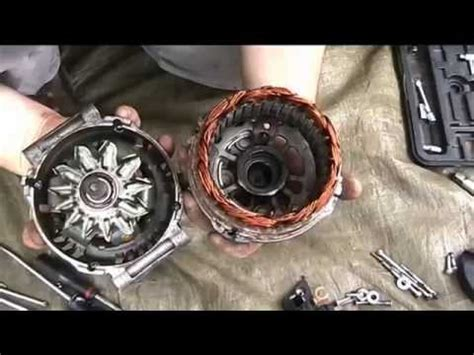 service manual how to replace alternator on a 1995 gmc suburban 2500 new alternator fits alternator repair noisy bearings replacement youtube