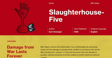 theme quotes in slaughterhouse five slaughterhouse five plot summary course hero