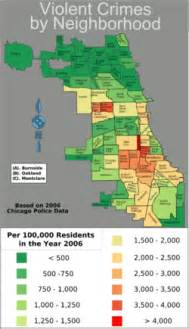 Bad Parts Of Chicago Map by Chicago Mayor Daley To Use Bigger Guns To Combat Guns