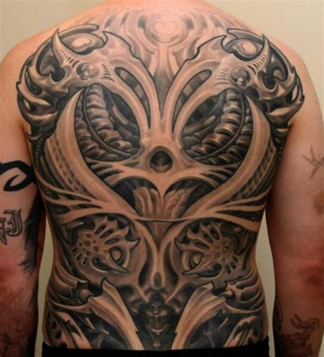 tattoo biomechanical back biomechanical back tattoo www pixshark com images