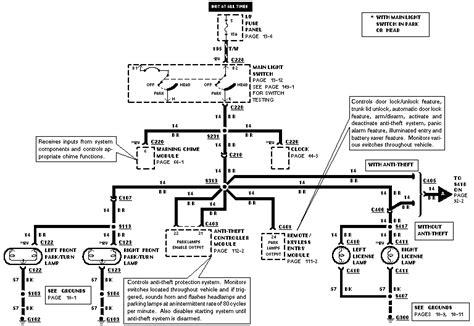 89 mustang light wiring diagram get free image
