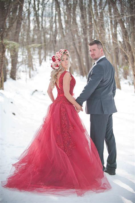 imagenes de vestidos de novia rojo 25 novias que no usaron un vestido blanco el d 237 a de su boda