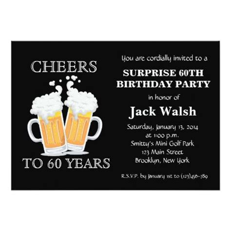 printable 60th birthday party invitations best 25 60th 25 best ideas about 60th birthday invitations on