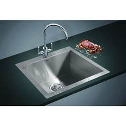 Top Mounted Kitchen Sinks Stainless Steel Top Mount Kitchen Sink 530x505mm Buy Kitchen Sinks