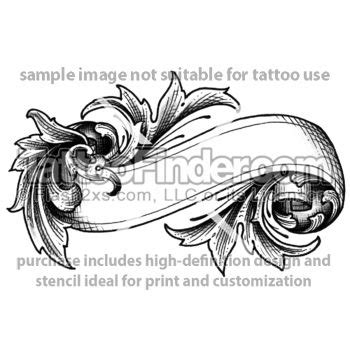 scroll foot tattoo designs 45 best images about banner scroll on