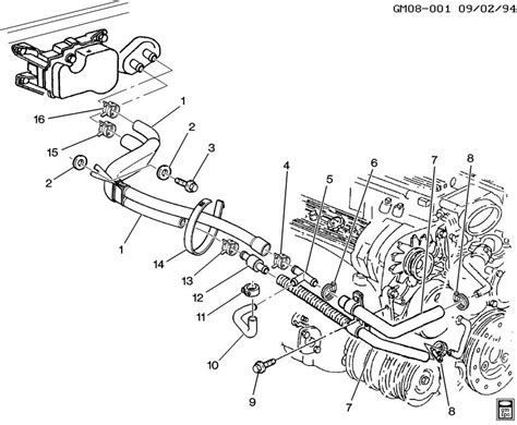 lt1 camaro heater hose diagram help id lt 1 water pump ports please corvetteforum