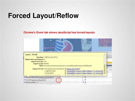 javascript reflow layout jquery conference san diego 2014 web performance