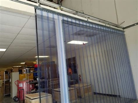 sliding pvc strip curtains slide open pvc strip curtain doors with sliding roller