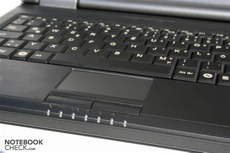 Touchpad Notebook testrapport fujitsu siemens esprimo mobile u9200 notebook