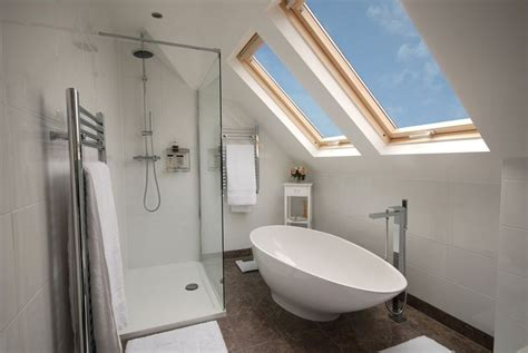 loft conversion bathroom ideas gorgeous side dormer loft conversion bathroom from