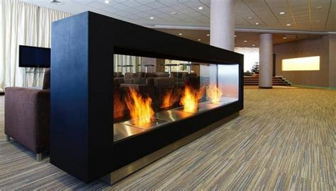 Yellow Fireplace by Bio Ethanol Burners Remote Control Ethanol Fireplace