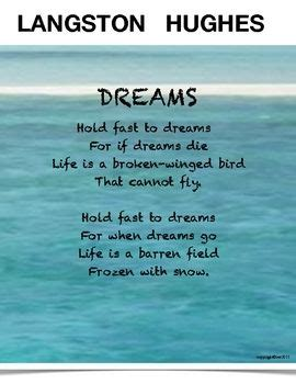 langston hughes biography for students langston hughes poem dreams seems like a simple poem yet