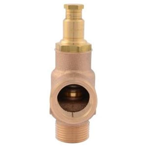 Outdoor Faucet Pressure Relief Valve by Acme 3 4 In Brass Inlet X 3 4 In Outlet