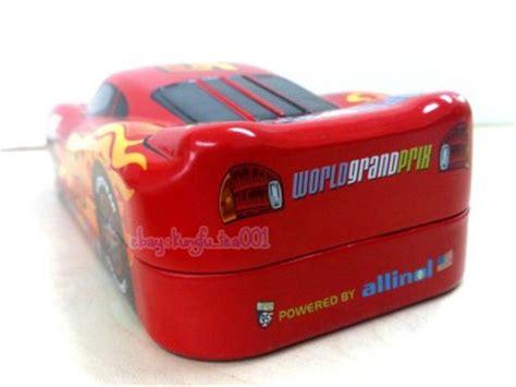 Stationary Cars 2 disney cars lightning mcqueen 2 layer pencil tin box stationary metal ebay