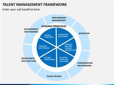 talent management framework powerpoint template sketchbubble