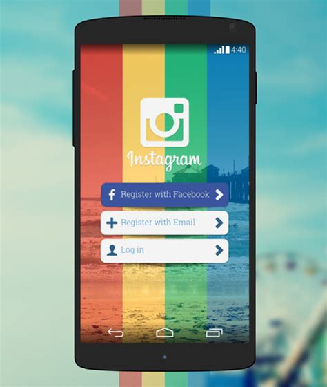 instagram ux design innovative ui design concepts to boost ux inspiration