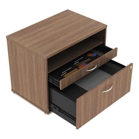 file credenza alera open office series low file cabinet credenza by