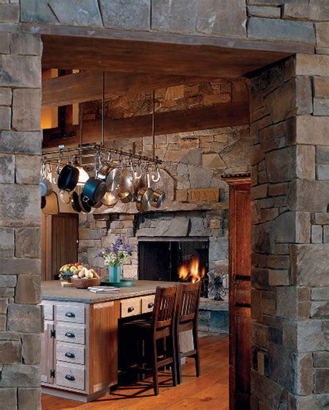 Fireplace In Kitchen by Tim Wheeler Masonry Construction Gallery Fireplaces