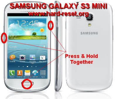 reset hard samsung s3 how to easily master format samsung galaxy s3 mini i8190