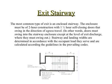 Ibc Stair Design building code egress