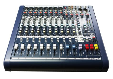 Audio Mixer Soundcraft Efx12 mfx soundcraft professional audio mixers