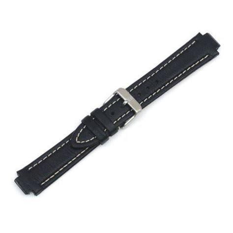 Swiss Army 12/19mm Black Leather Watch Strap   003535