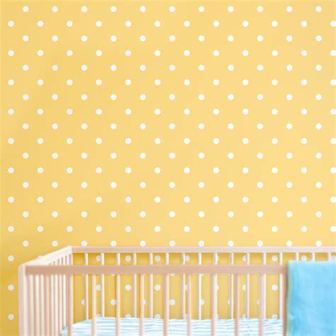 Tree Wall Art Stickers polka dot print removable wallpaper for nursery