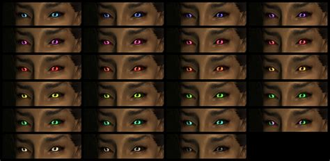 skyrim eye color mystic missanithrope s mods