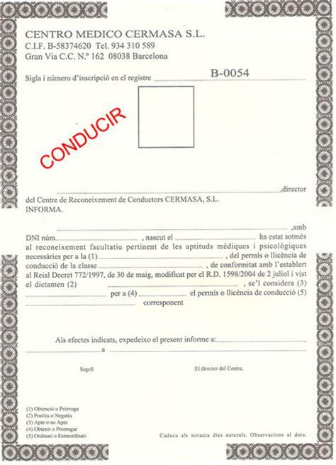 certificado m dico para conducir gratis en centros de salud cermasa certificados m 233 dicos para renovar carnet de