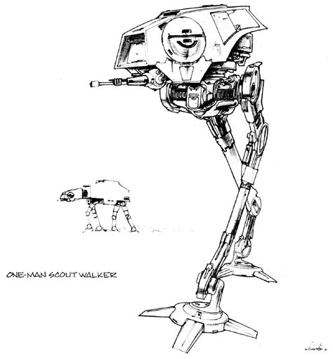 imperial walker coloring pages hasbro at st conversion to rotj studio replica page 2
