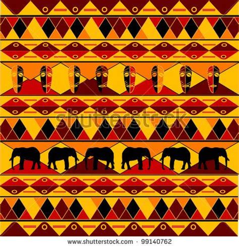 set traditional african ndebele patterns vector stock traditional african pattern by laschon maximilian via