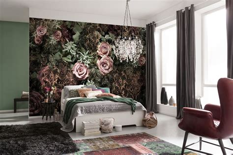 easy wall murals an easy transformation with komar brewster home