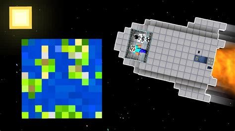 build  working spaceship  minecraft youtube