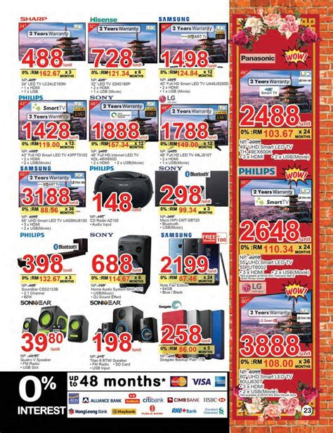 aeon new year promotion aeon big national new year promotion catalogue 9