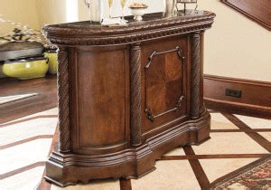north shore bar with marble top north shore marble top bar lexington overstock warehouse