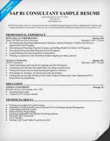 Sap Specialist Sle Resume by Sap B1 Consultant Resume Sle Resumecompanion Resume Sles Across All Industries