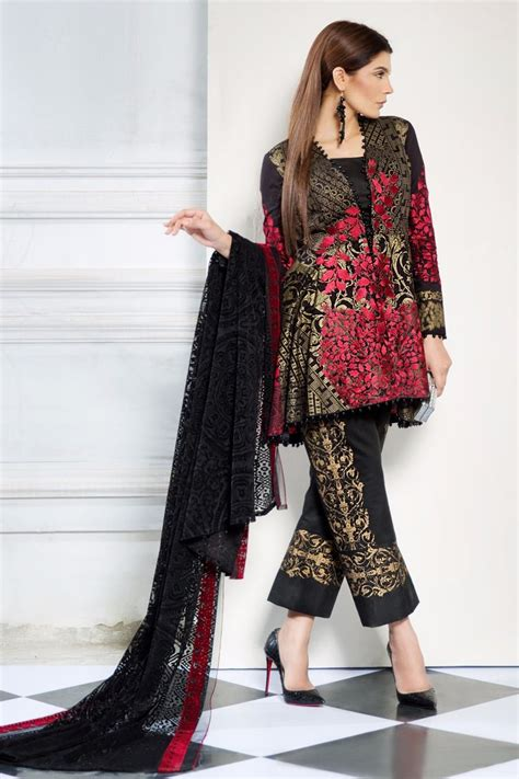 New Collection sana safinaz best summer lawn dresses collection 2017 2018