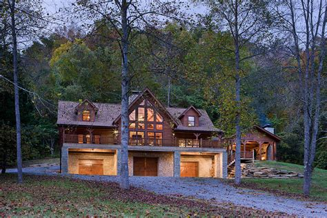 westport log home by honest abe log homes inc
