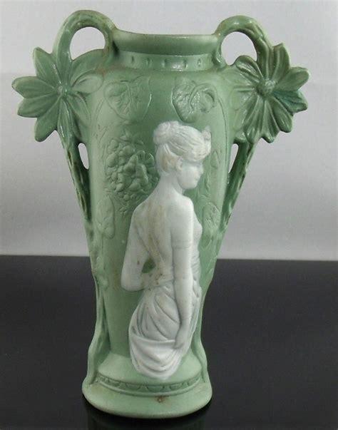 Vintage Ceramic Vases by Vintage Nouveau Ceramic Porcelain Vase Ebay